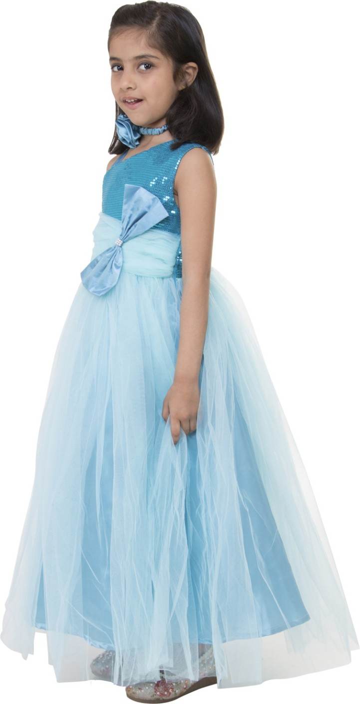 Samsara Couture Girls Maxi/Full Length Party Dress Price in India ...