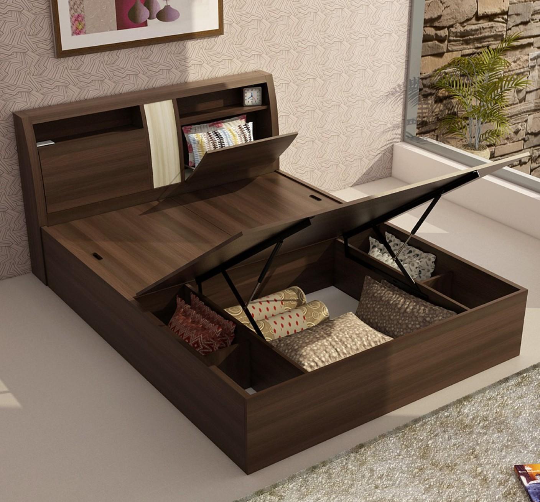 King Storage Bed Modern