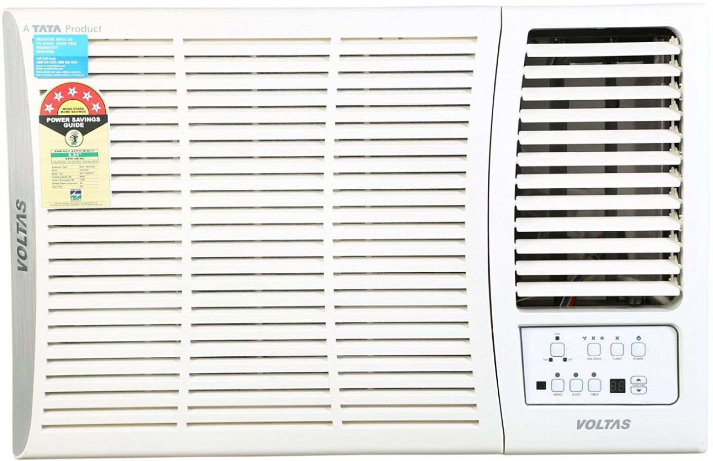Buy voltas 1 5 ton 5 star bee rating 2017 for 1 5 ton window ac price india
