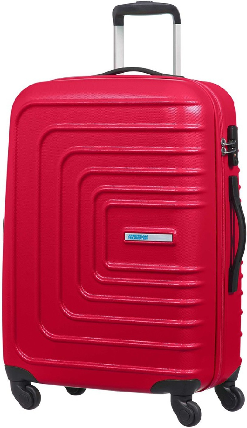 american tourister sunset square cabin luggage 22 inch red price in india. Black Bedroom Furniture Sets. Home Design Ideas