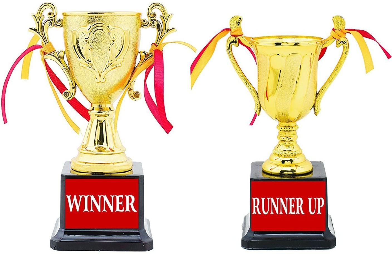 Aark India Winner Amp Runner Up Trophy Award Gift Set Of