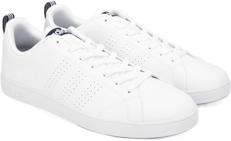 adidas neo advantage clean vs navy blue sneakers