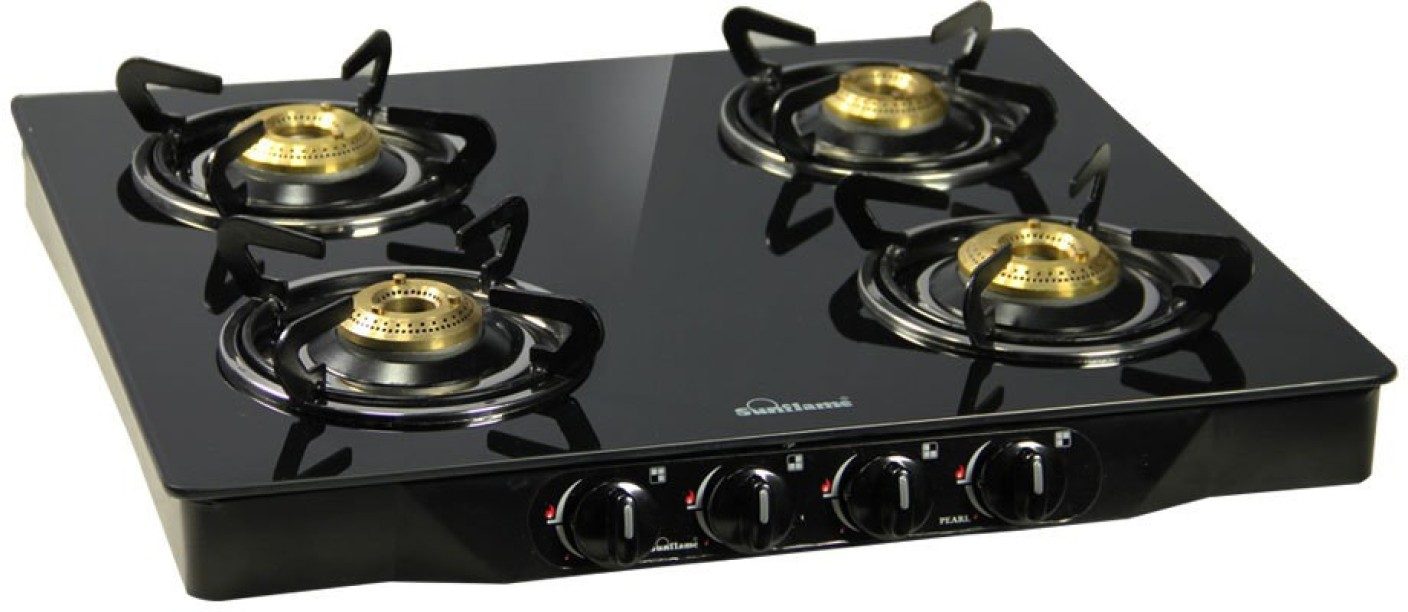 Kitchen Stove Gas Flame Color