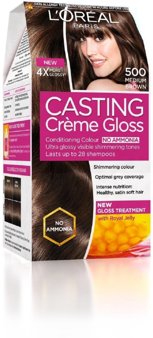 Loreal Paris Casting Creme Gloss 500, 875G72Ml Hair Color - Price In India, Buy L -1952