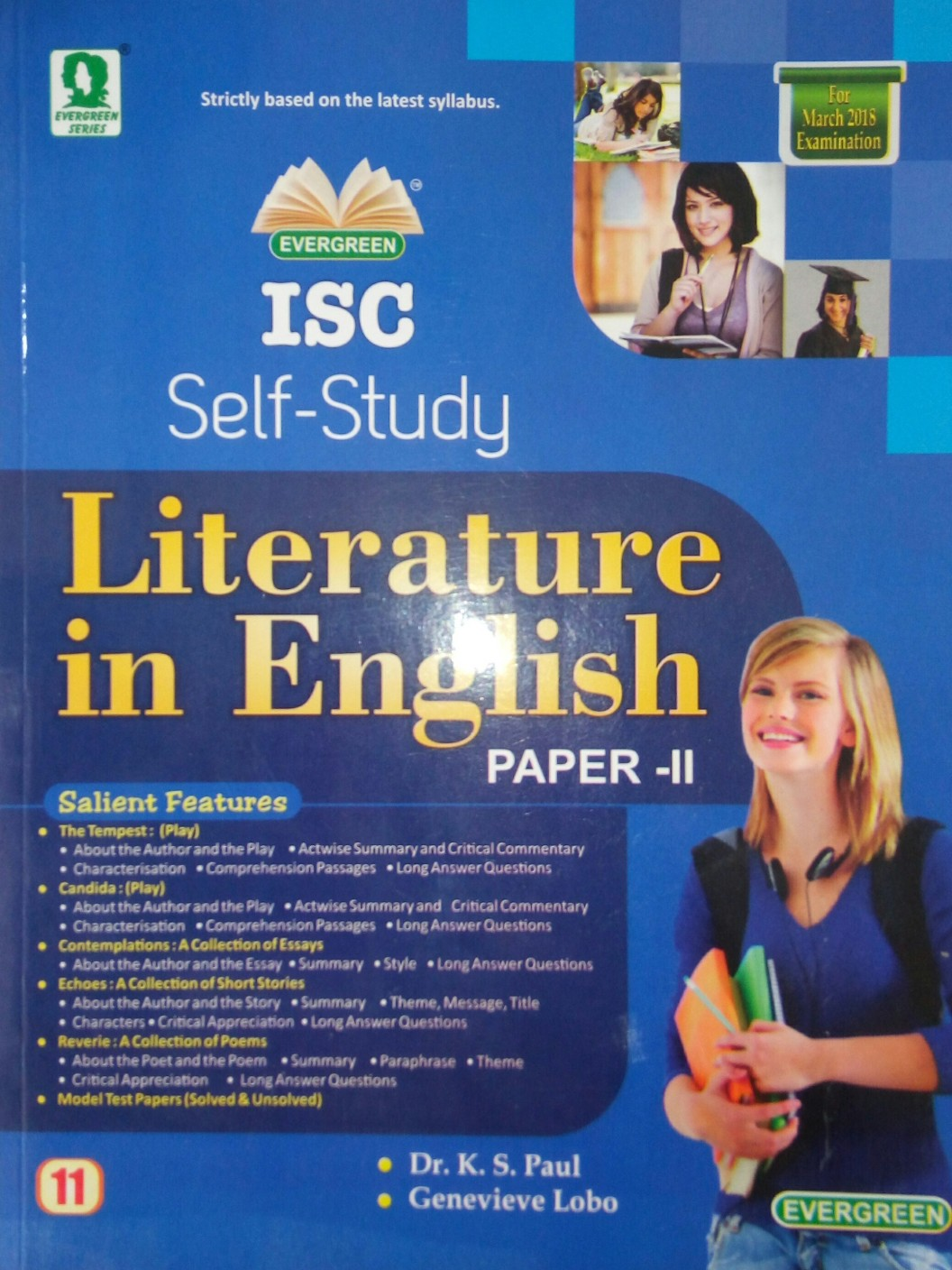 evergreen isc self study english literature class price in add to cart
