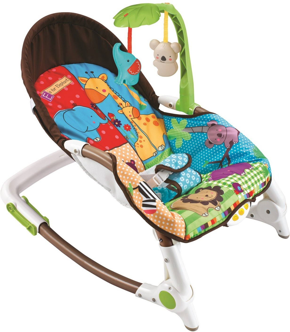 Electric baby rocker chair - Fiddle Diddle Baby Bouncer Cum Rocker Share