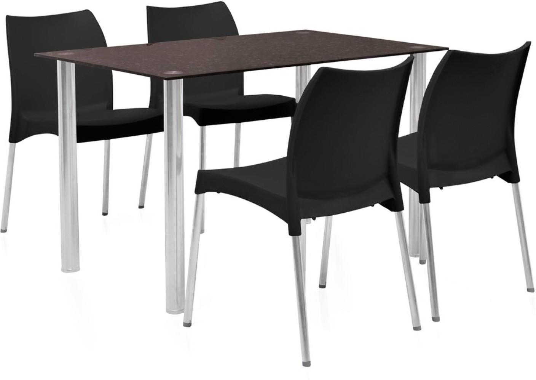 home by Nilkamal Napoli Glass 4 Seater Dining Set Price  : 4 seater na stainless steel fldsnapolikit4sblk home by nilkamal original imaevbrzhvvwwr5q from www.flipkart.com size 1408 x 997 jpeg 99kB