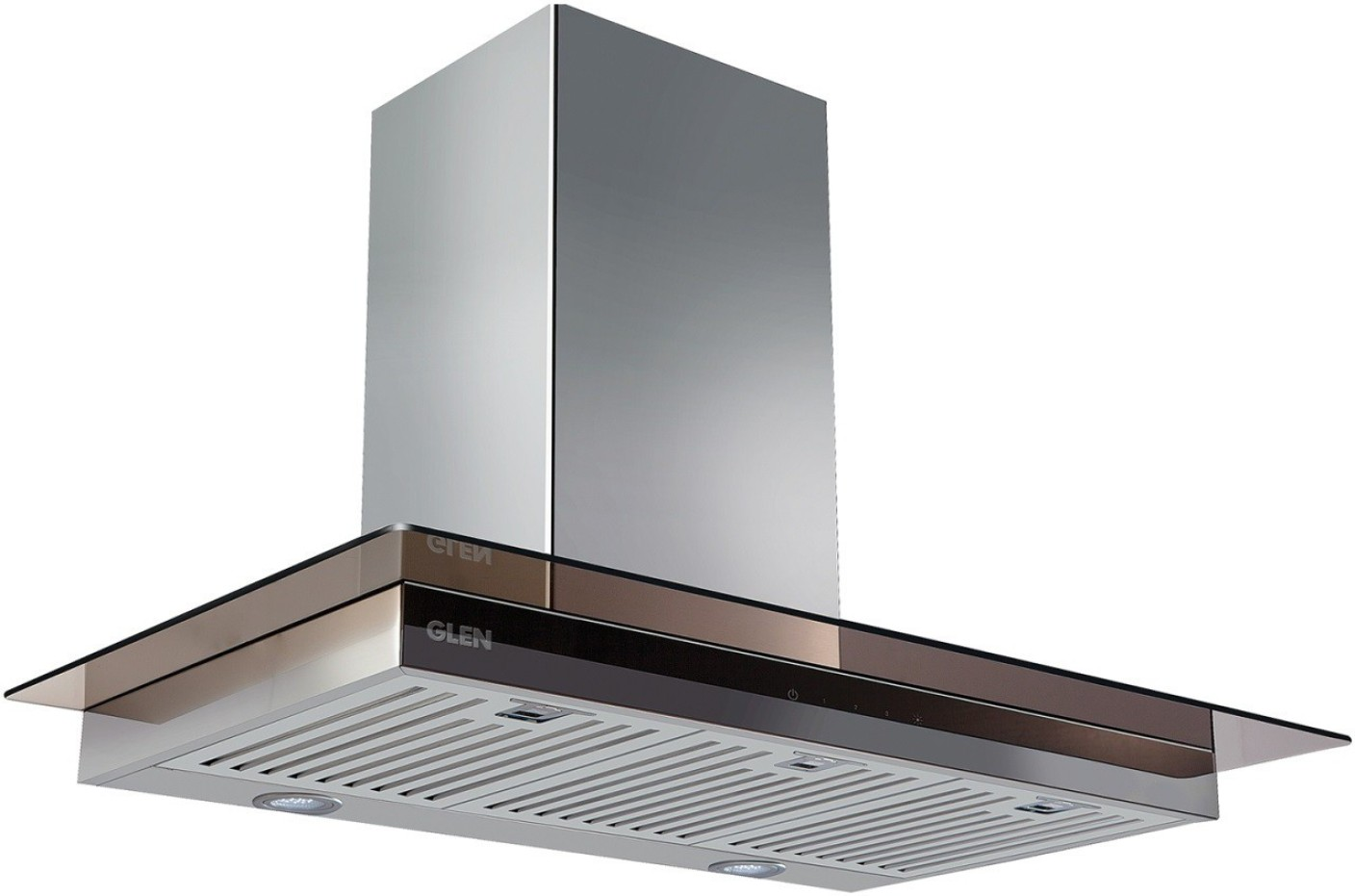 Glen Kitchen Chimney Gl 6062 Sx Ts 60cm 750m3 Touch