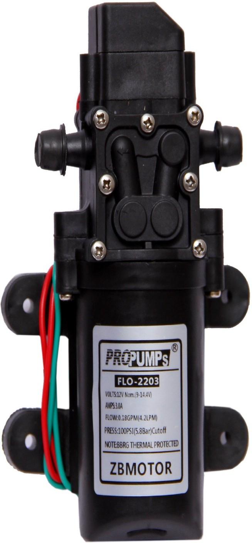 Balrama agriculture battery sprayer motor pump 12 volt dc for 1 hp motor power consumption