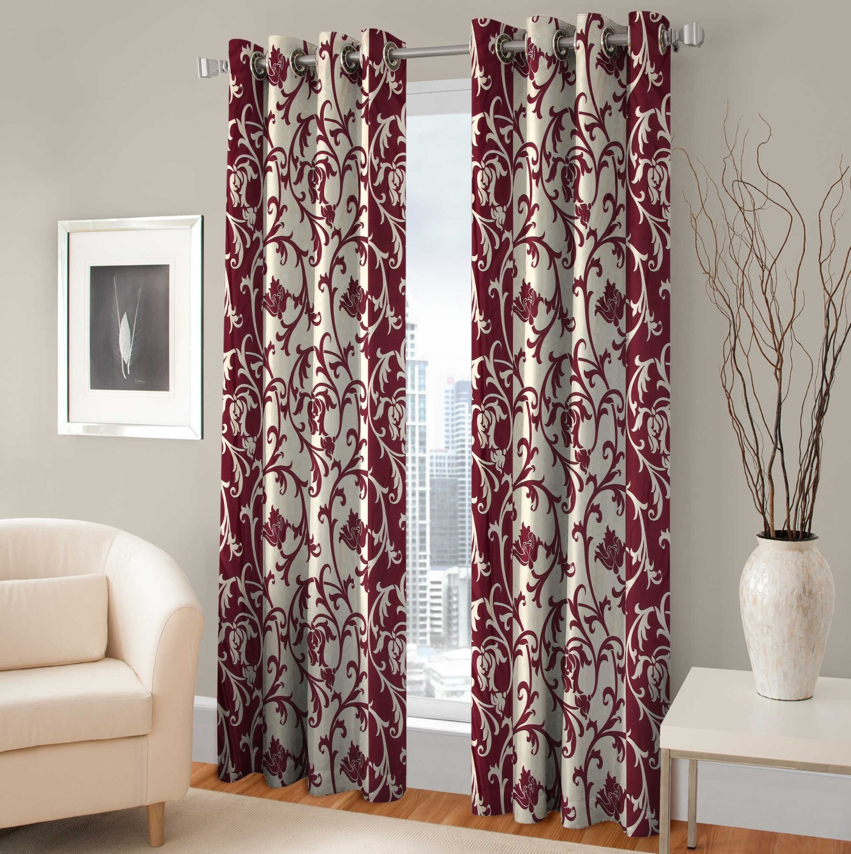 Fabaron Polyester Door Curtain 241 Cm 7 Ft Single