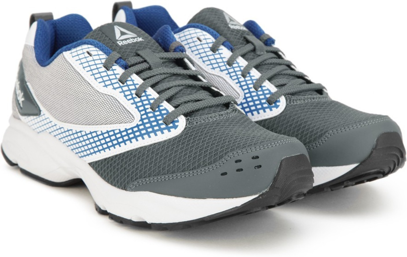 reebok zest running shoes for men buy ash greywhtblue