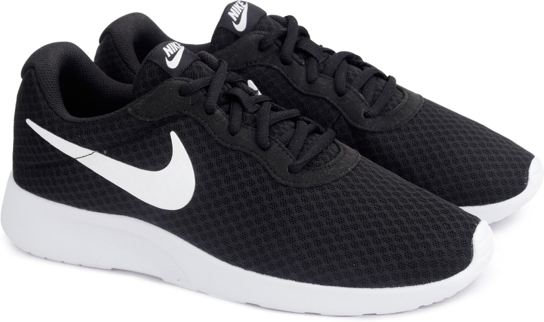 Black And Gray Tanjun Nike Shoes