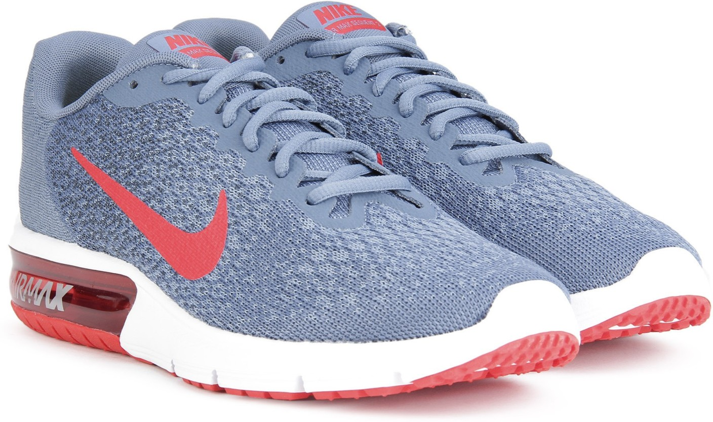 nike air max sequent 2 basketball shoes for men buy ocean fog university red squadron blue. Black Bedroom Furniture Sets. Home Design Ideas