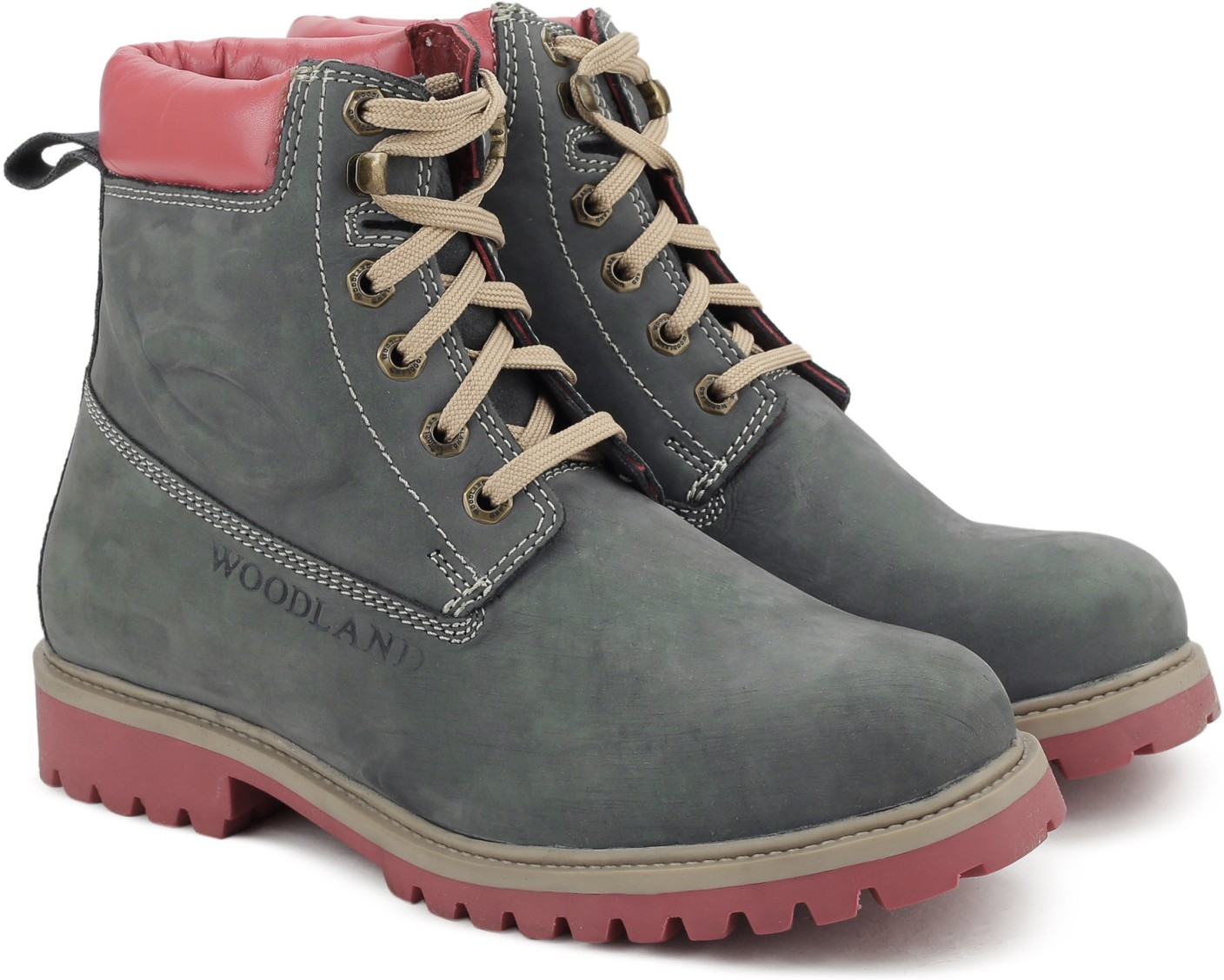 Woodland Boots For Men - Buy NAVY Color Woodland Boots For ...