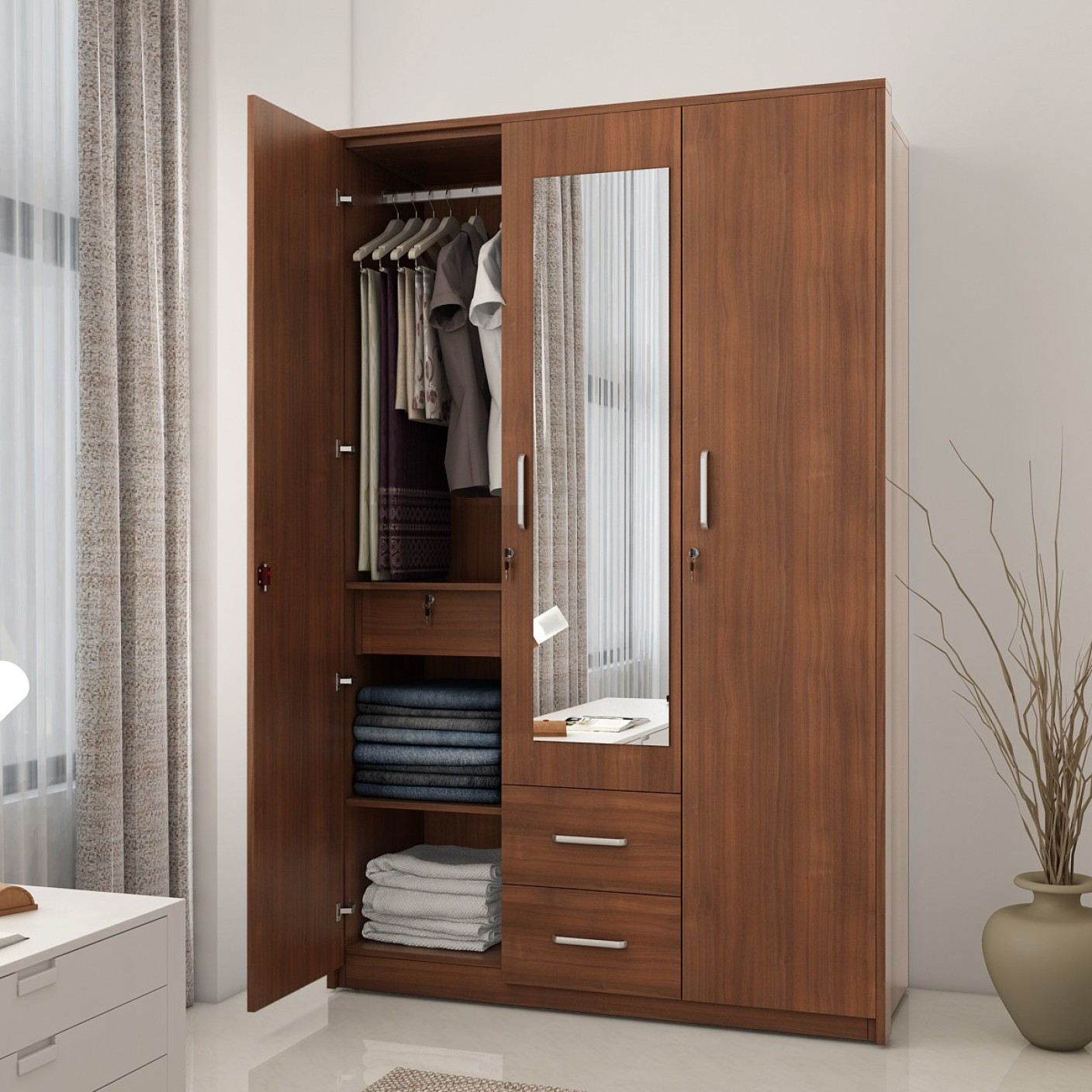 Online shopping india buy mobiles electronics for 1 door wardrobes