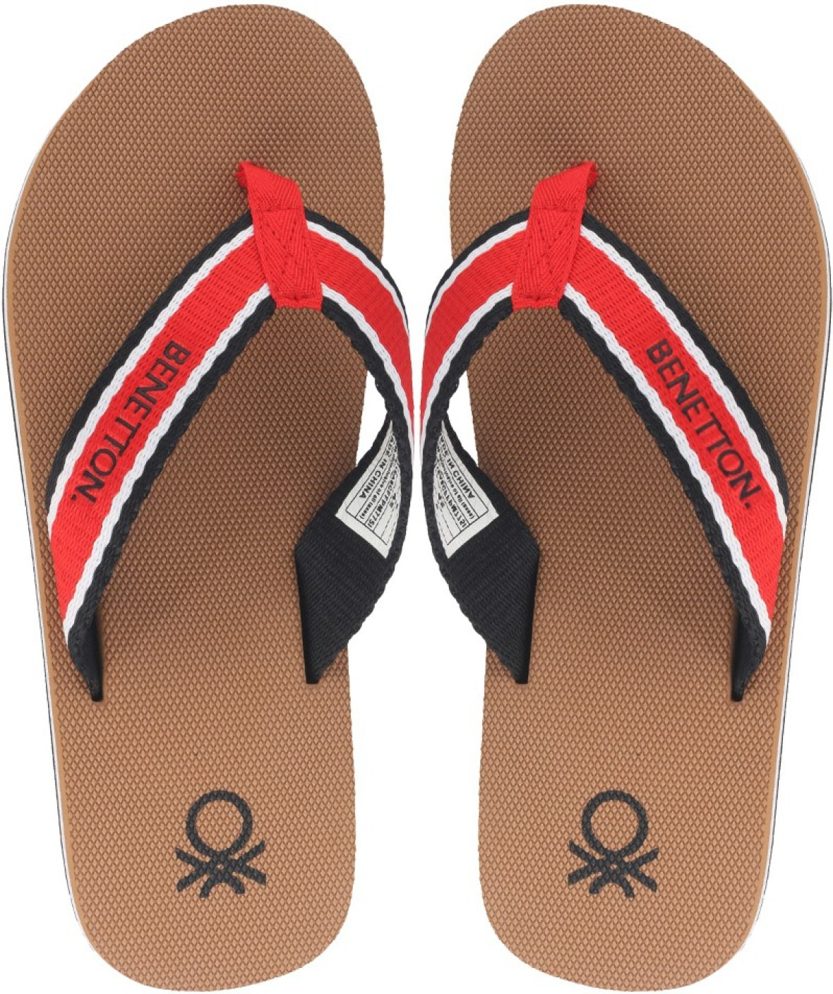 United Colors Of Benetton Flip Flops Buy Red Color United Colors Of Benetton Flip Flops Online