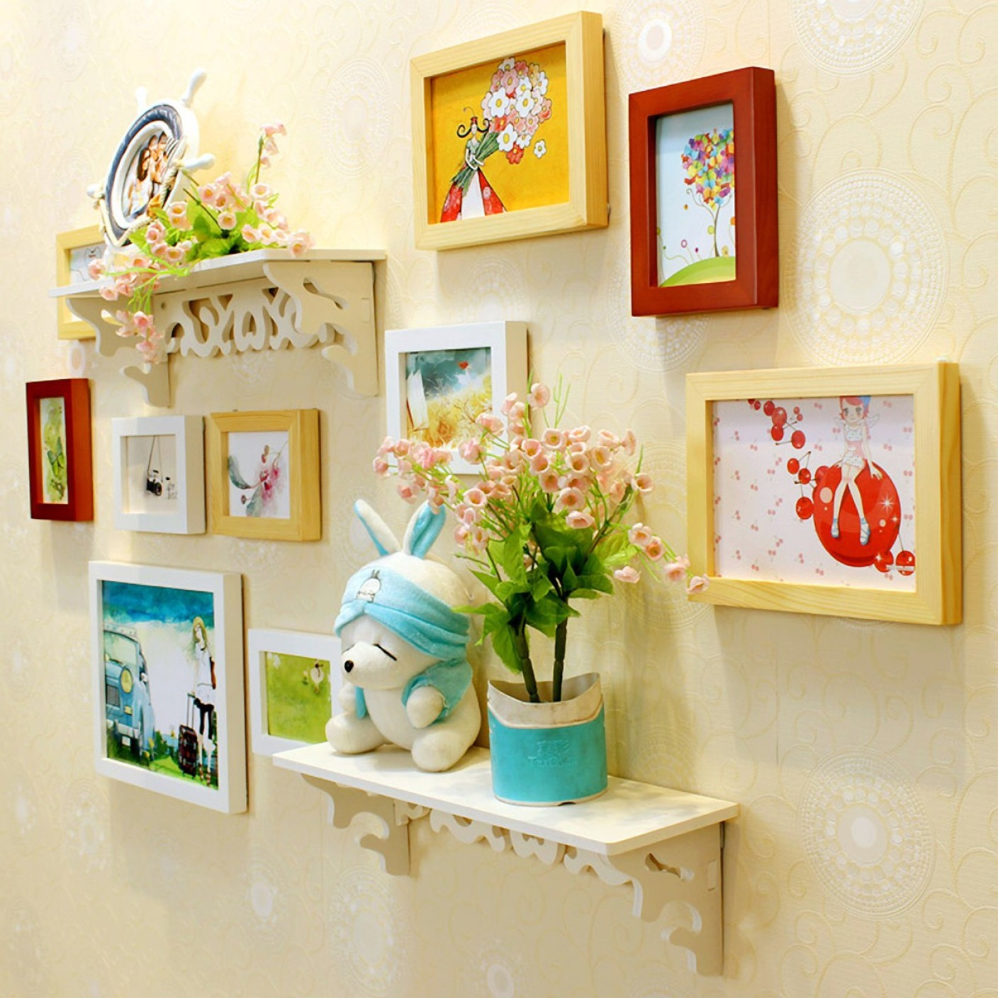 Contemporary Wall Frames Ideas Crest - The Wall Art Decorations ...