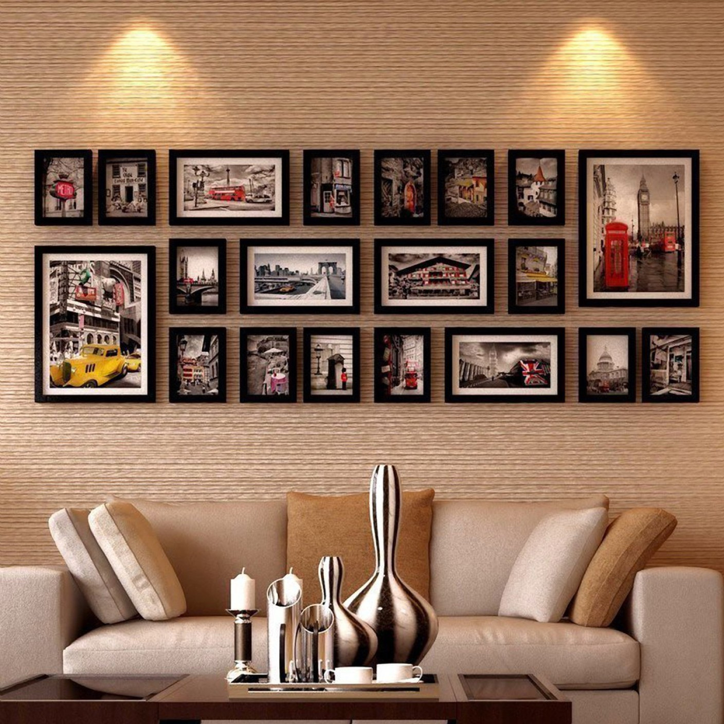 Wollwoll wood photo frame price in india buy wollwoll - Interiors by design picture frames ...