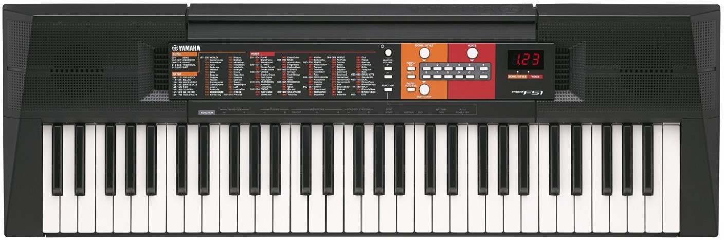 yamaha psr f51 digital portable keyboard price in india