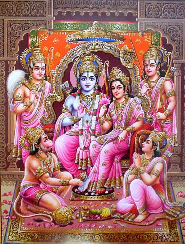 Good Wallpaper Lord Ram Darbar - large-god-s-ram-darbar-on-hi-quality-large-print-36x24-inches-original-imaese22tsnrpue2  Best Photo Reference_47585.jpeg?q\u003d90