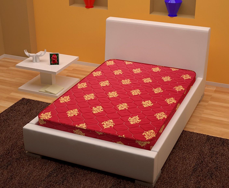 story home foammat 4 inch single high density hd foam mattress price in india buy story home. Black Bedroom Furniture Sets. Home Design Ideas