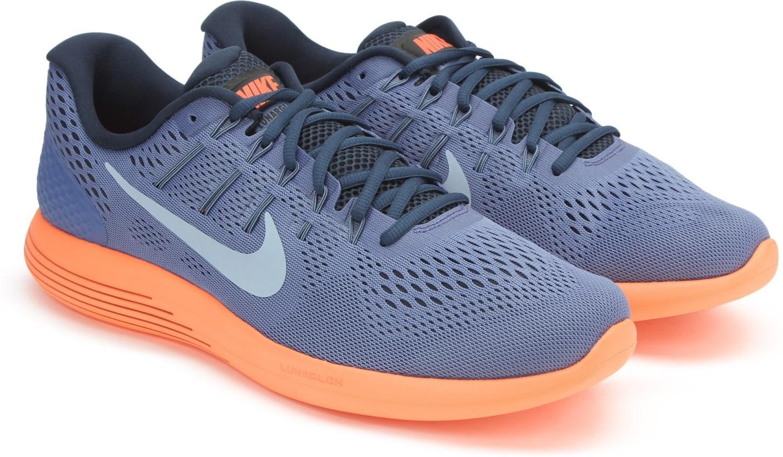 on sale ba52f 16503 ... Nike LUNARGLIDE 8 Running Shoes For Men - Buy BLUE MOONLT AR ...