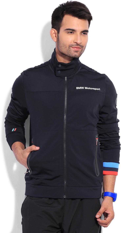 puma full sleeve solid men 39 s jacket buy bmw team blue. Black Bedroom Furniture Sets. Home Design Ideas