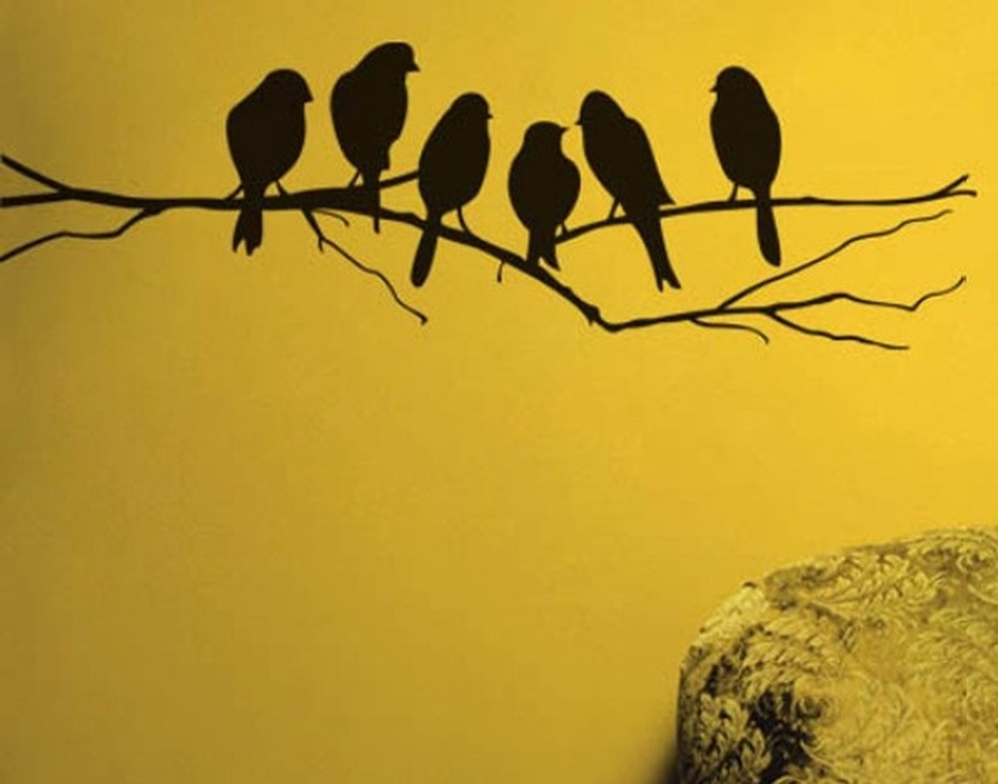 Modern Metal Wall Art Birds Sketch - The Wall Art Decorations ...