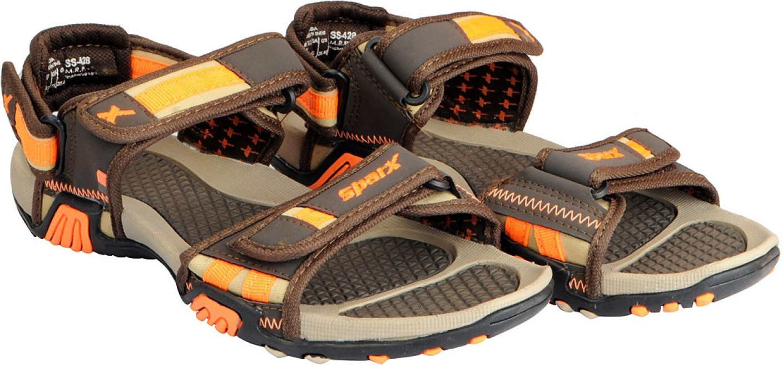 Sparx Men Brown Beige Sandals Buy Brown Beige Color
