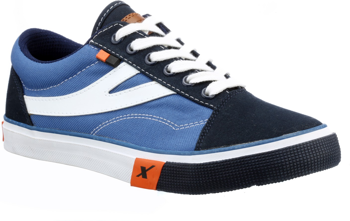 Sparx Canvas Shoes For Men - Buy BlueWhite Color Sparx ... Canvas Shoes For Men Price