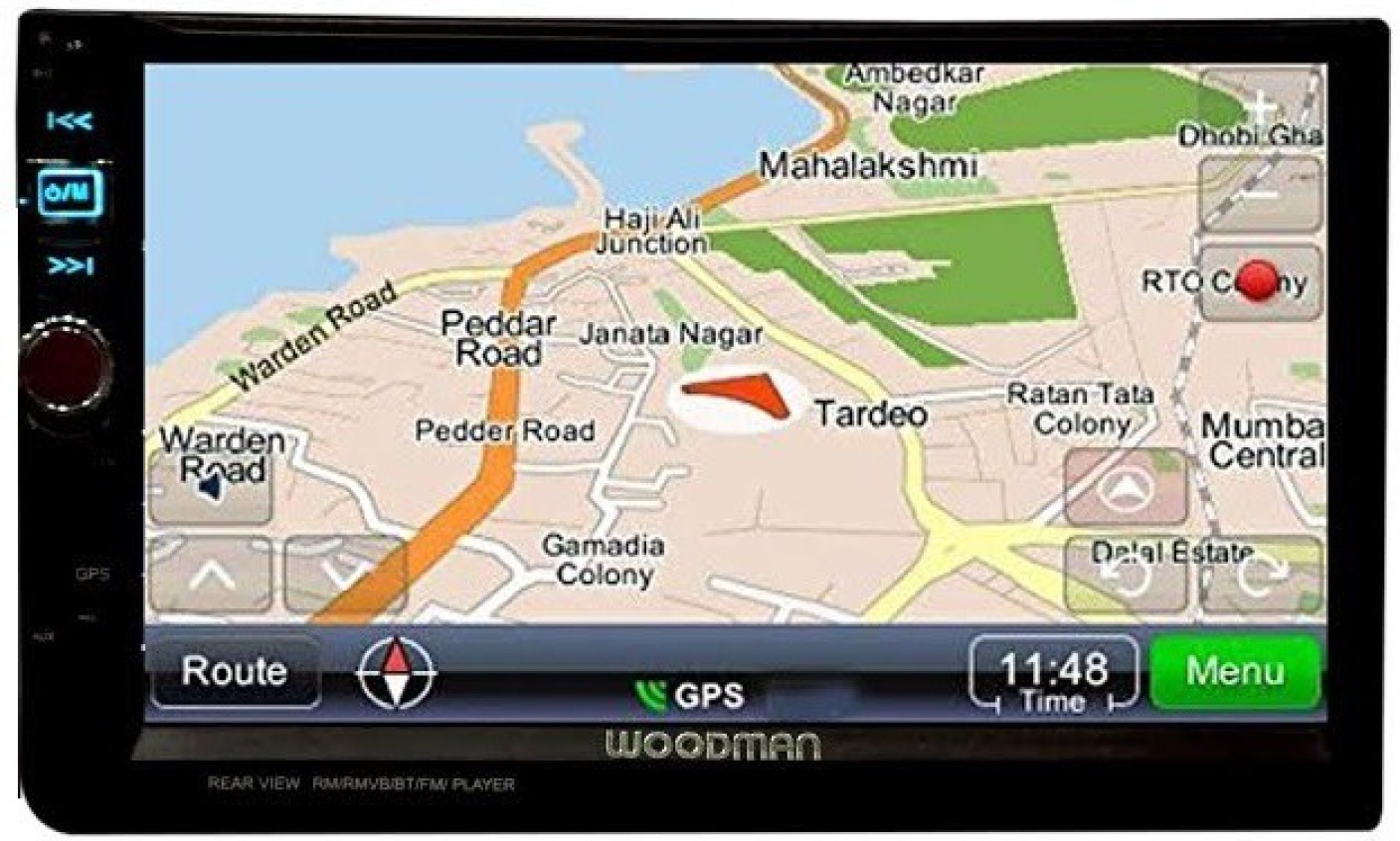 Woodman Luxury Wmlxgps22 Double Din With Inbuilt Gps