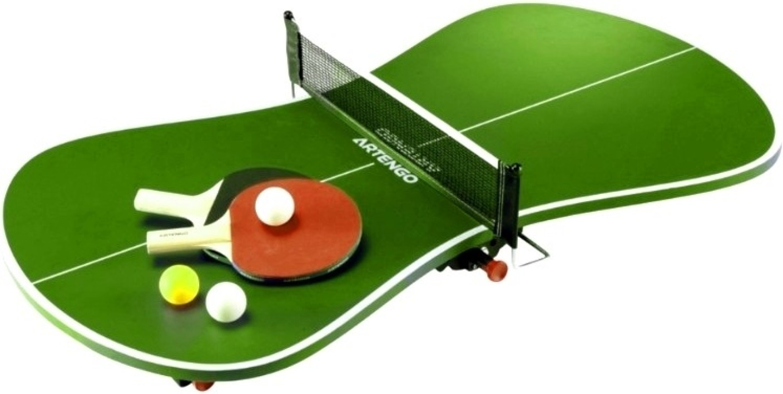 artengo by decathlon mini table 700f table tennis kit - buy