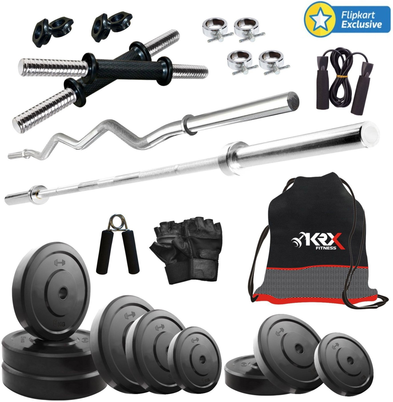 Krx kg combo home gym kit buy