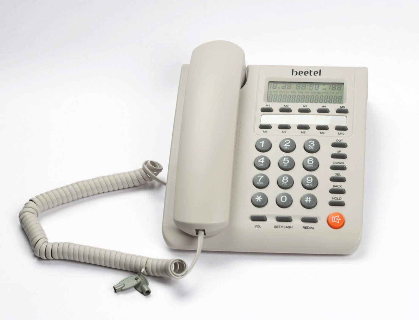 how to check last incoming call on landline
