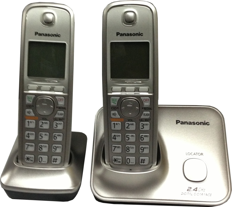 Panasonic KX-TG3712SXN Cordless Landline Phone Price in ...