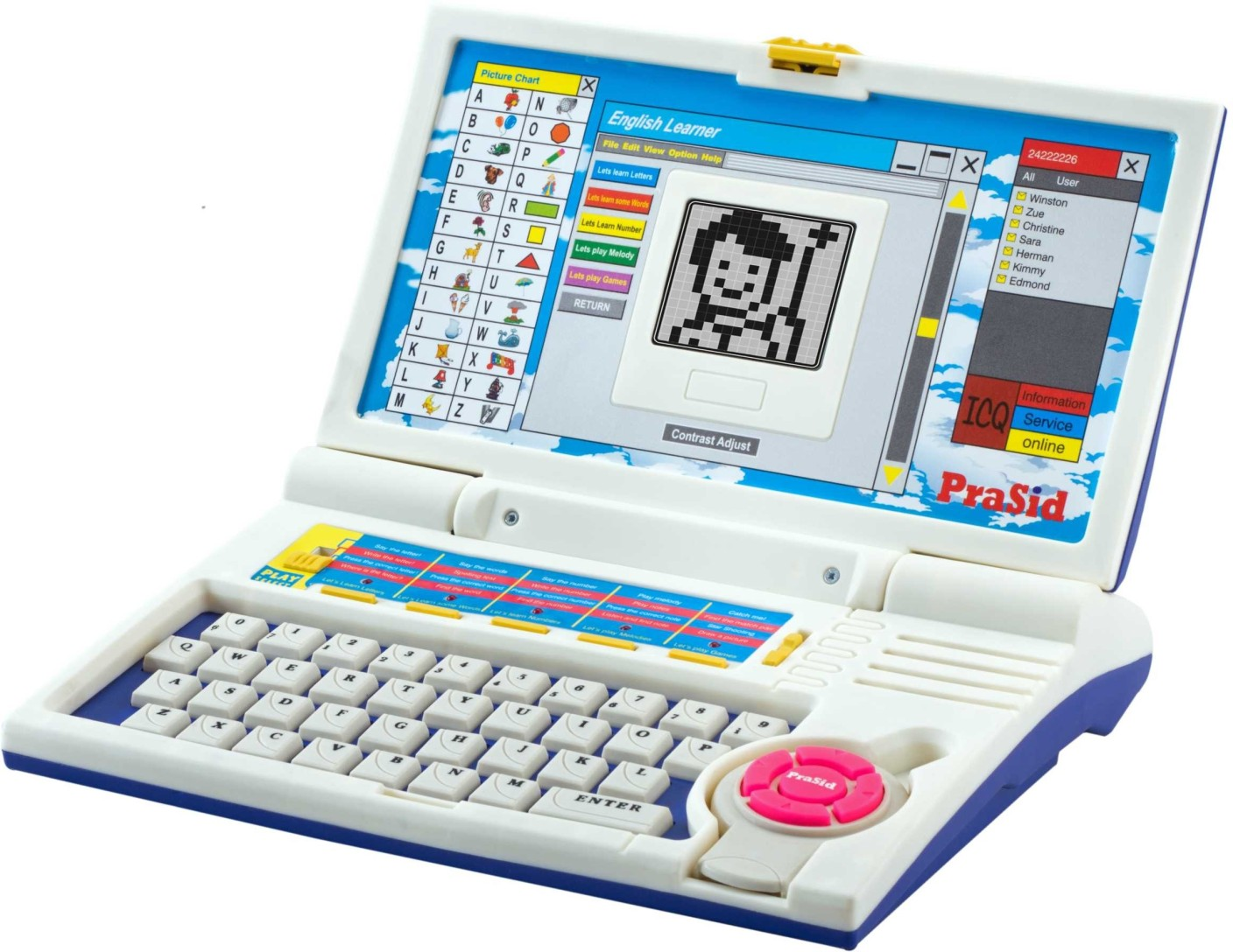 Computer Learning Toys : Prasid english learner kids laptop price in india buy