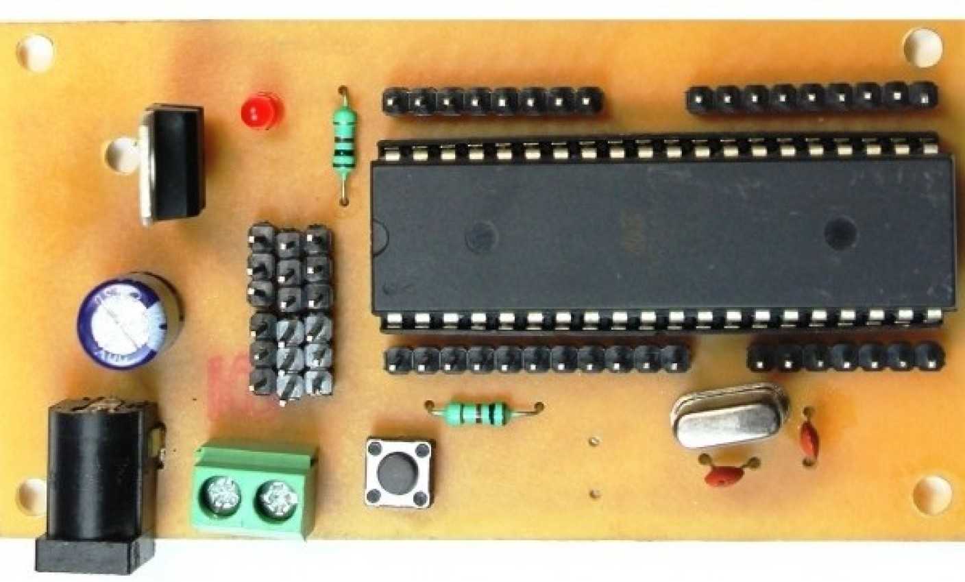 Robomart atmega project board with controller v