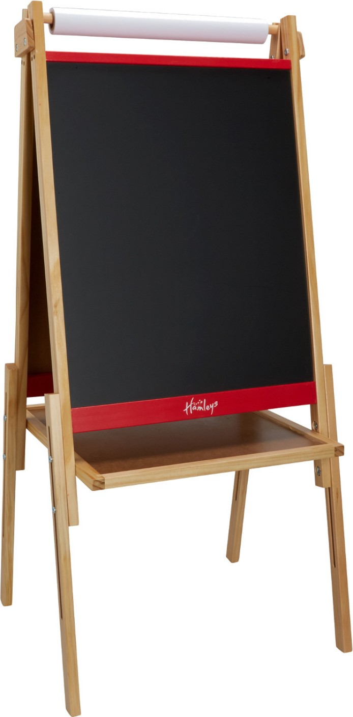 Hamleys Wooden Easel With Paper Roll Price In India Buy
