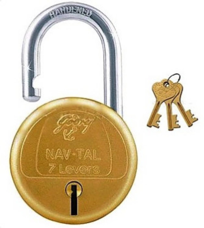 Godrej Navtal 7 Levers Hardened 3 Keys Lock Buy Godrej