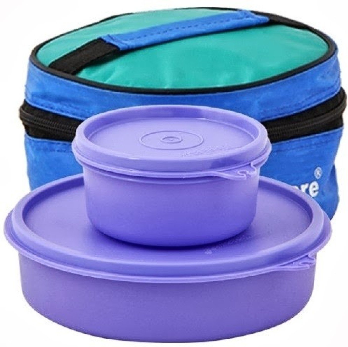 tupperware classic 2 containers lunch box. Black Bedroom Furniture Sets. Home Design Ideas