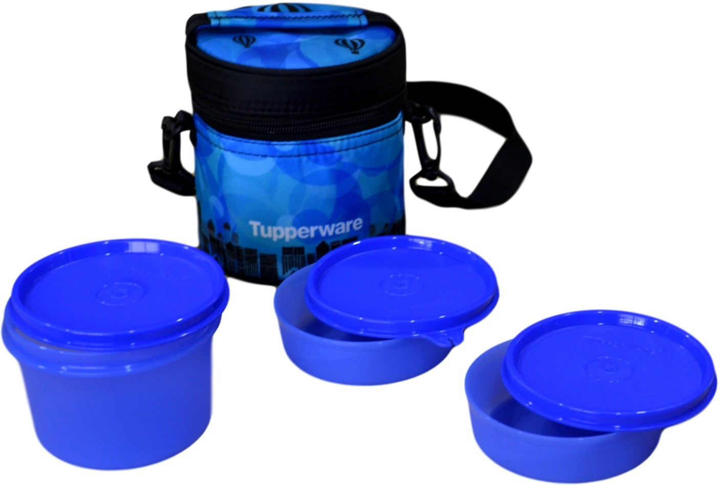 tupperware citylife 3 containers lunch box. Black Bedroom Furniture Sets. Home Design Ideas