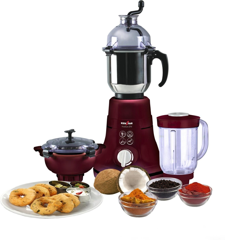 Uncategorized Kenstar Kitchen Appliances kenstar kmd60m3p dbf 600 w mixer grinder price in india buy add to cart