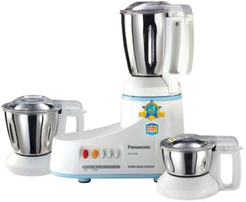 Panasonic Kitchen Appliances Panasonic Mx Ac300s 550 W Mixer Grinder Price In India Buy