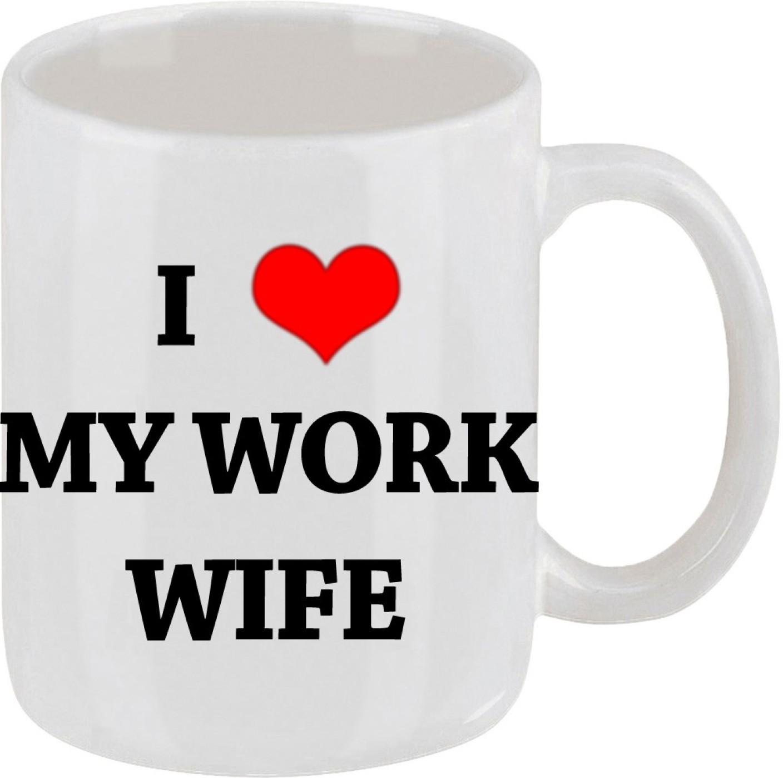 Lazy Turtle I Love My Work Wife Ceramic Mug Price In India