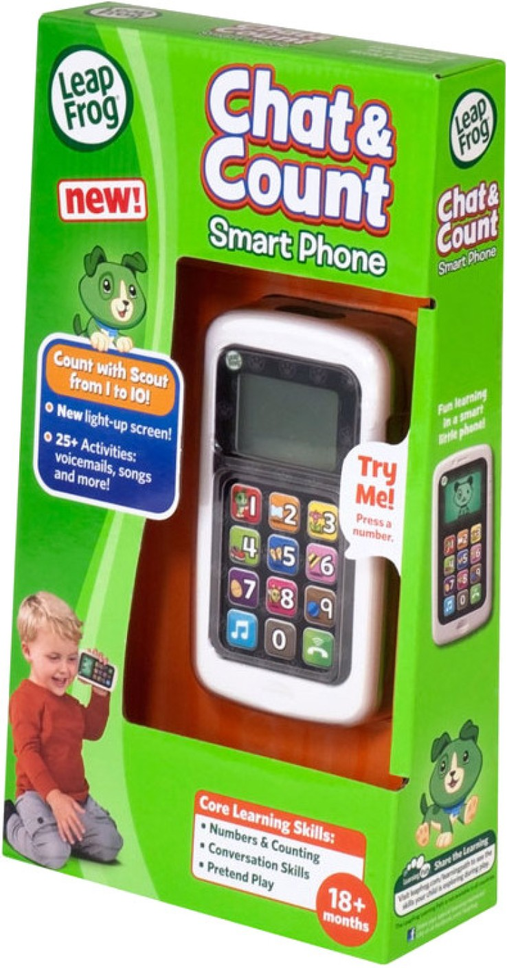 LeapFrog Chat and Count Mobile Phone - Chat and Count ...