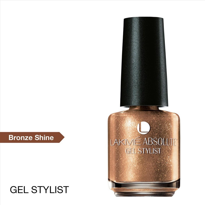 Gel Nail Polish Lakme: Lakme Absolute Gel Stylist Broze Shine