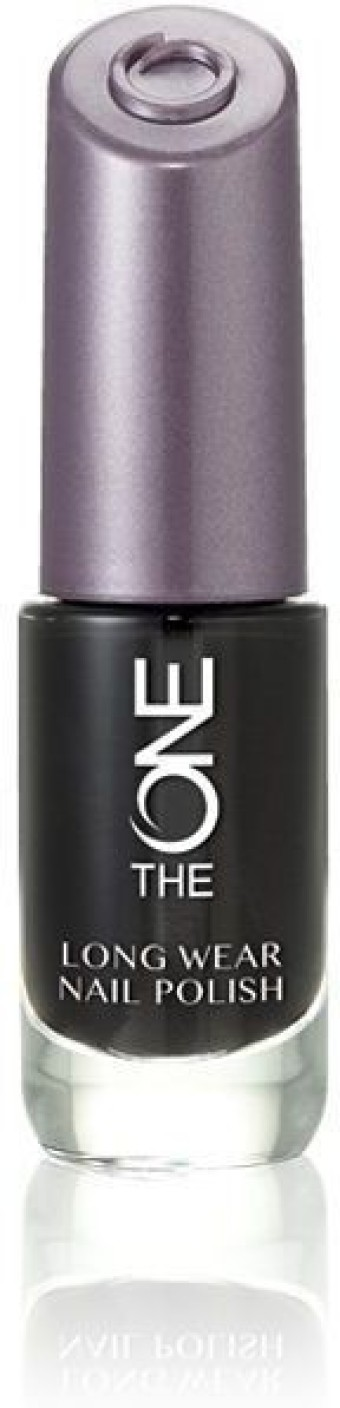 Oriflame Sweden The One Long Wear Nail polish -Black Noir Black ...