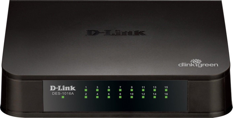 d link des 1016a 16 port 10 100 network switch d link. Black Bedroom Furniture Sets. Home Design Ideas