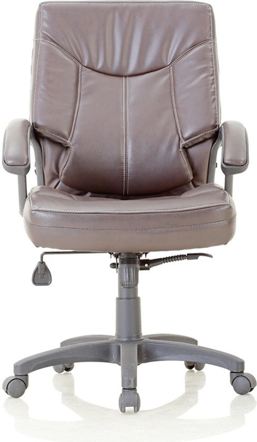 Featherlite tycoon hf leatherette office arm chair