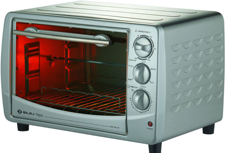 Bajaj 28 Litre 2800 Tmcss Oven Toaster Grill Otg Price